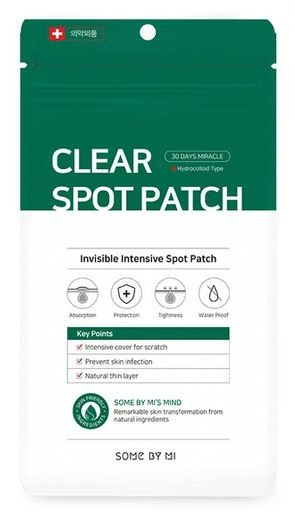 SOMEBYMI 30 days Miracle Clear Spot Patches