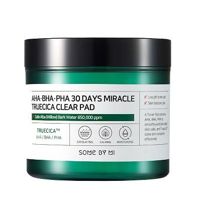 SOMEBYMI AHA-BHA-PHA 30 days Miracle Truecica Clear Pad